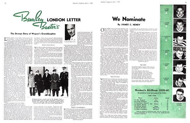Article Preview: We Nominate, April 1940 | Maclean's