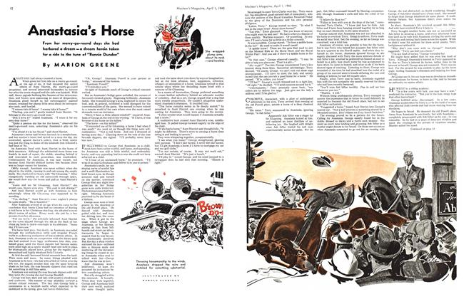 Article Preview: Anastasia's Horse, April 1940 | Maclean's