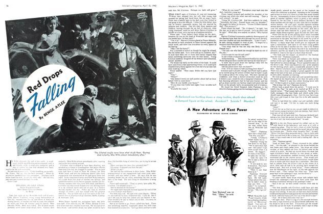 Article Preview: Red Drops Falling, April 1940 | Maclean's