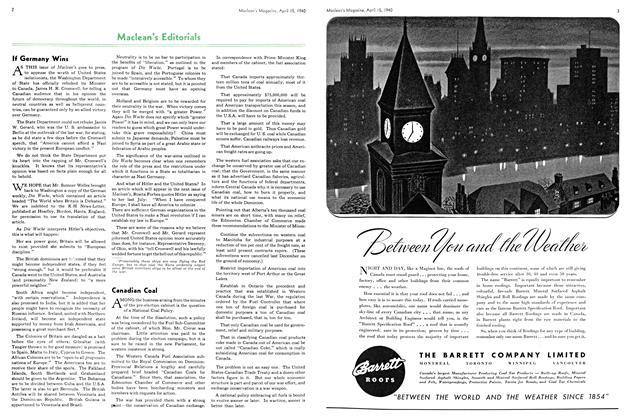 Article Preview: Canadian Coal, April 1940 | Maclean's