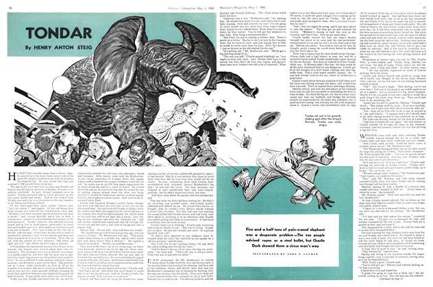 Article Preview: TONDAR, May 1940 | Maclean's