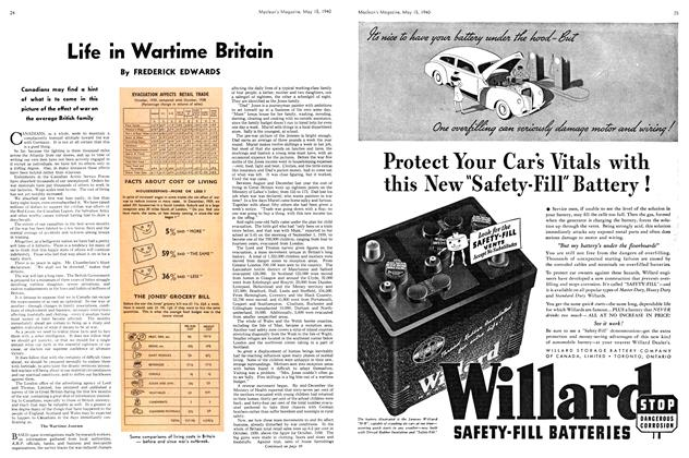 Article Preview: Life in Wartime Britain, May 1940 | Maclean's