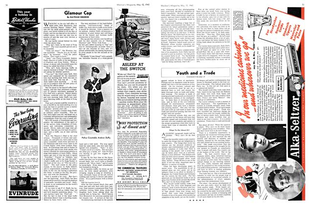 Article Preview: Glamour Cop, May 1940 | Maclean's
