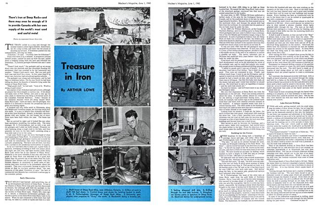 Article Preview: Treasure in Iron, June 1940 | Maclean's