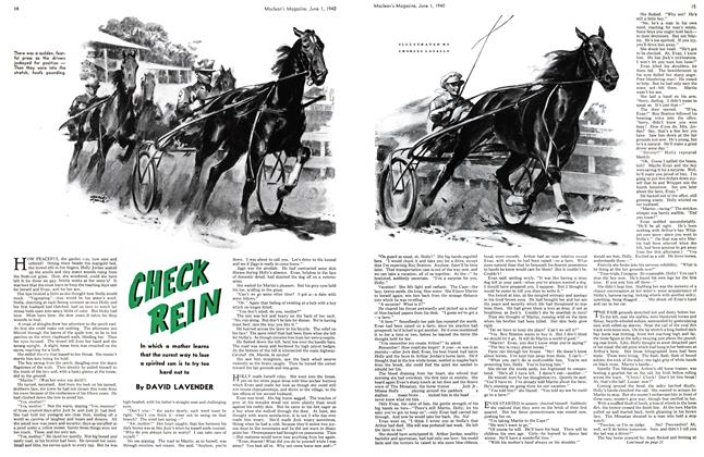 Article Preview: CHECK REIN, June 1940 | Maclean's
