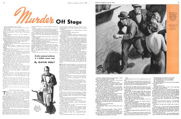 Article Preview: Murder Off Stage, June 1940 | Maclean's