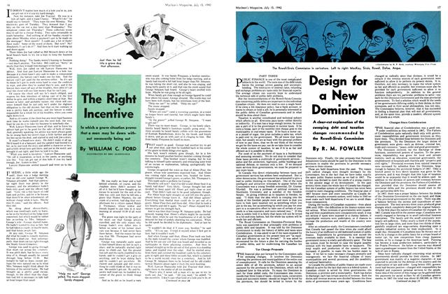 Article Preview: Design for a New Dominion, July 1940 | Maclean's