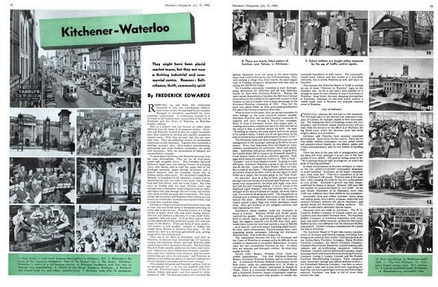 Article Preview: Kitchener-Waterloo, July 1940 | Maclean's