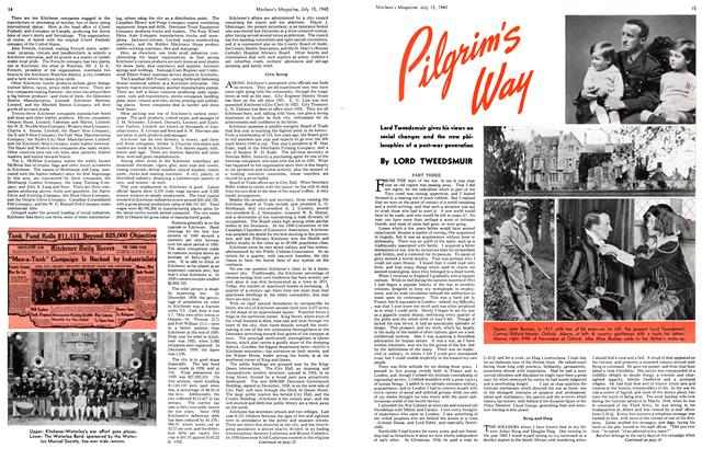 Article Preview: Pilgrim's Way, July 1940 | Maclean's