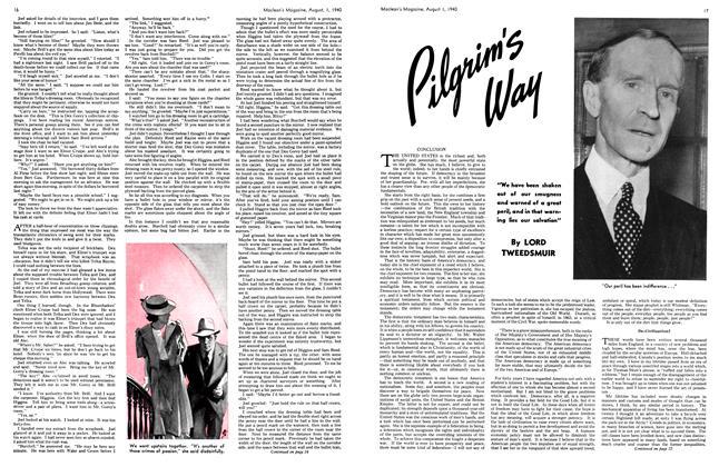Article Preview: Pilgrim's Way, August 1940 | Maclean's