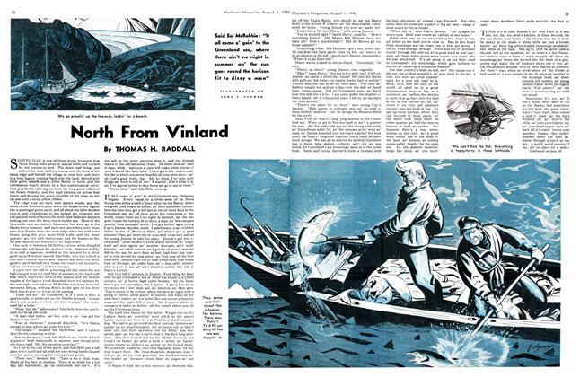 Article Preview: North From Vinland, August 1940 | Maclean's