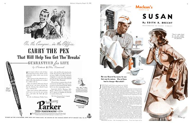 Article Preview: SUSAN, August 1940 | Maclean's