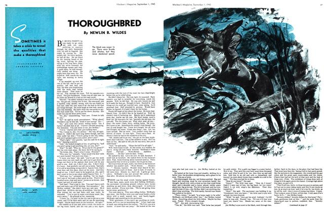 Article Preview: THOROUGHBRED, September 1940 | Maclean's