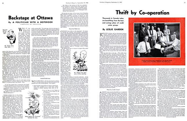 Article Preview: Thrift by Co-operation, September 1940 | Maclean's