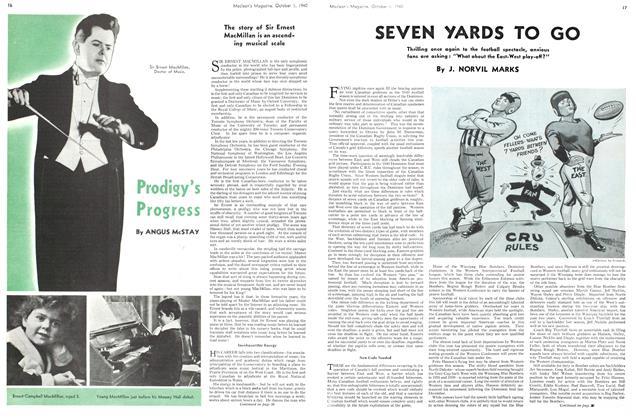 Article Preview: Prodigy's Progress, October 1940 | Maclean's