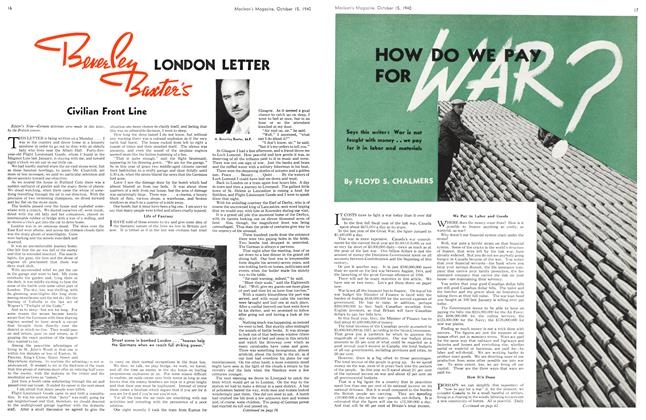 Article Preview: HOW DO WE PAY FOR WAR?, October 1940 | Maclean's