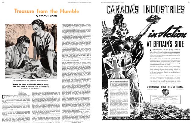 Article Preview: Treasure from the Humble, November 1940 | Maclean's