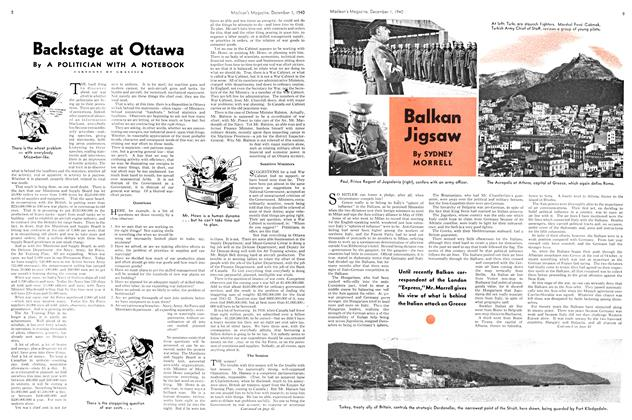 Article Preview: Balkan Jigsaw, December 1940 | Maclean's