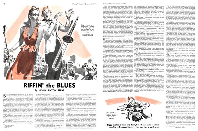 Article Preview: RIFFIN' the BLUES, December 1940 | Maclean's
