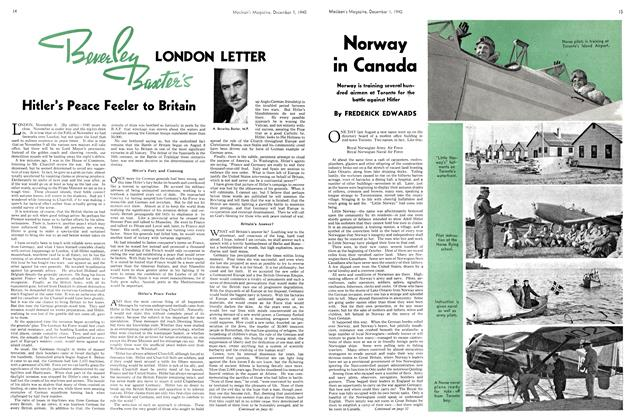 Article Preview: Norway in Canada, December 1940 | Maclean's