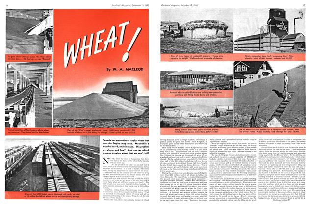 Article Preview: WHEAT!, December 1940 | Maclean's