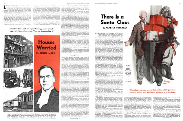 Article Preview: Houses Wanted, December 1940 | Maclean's