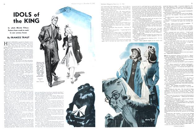 Article Preview: IDOLS of the KING, December 1940 | Maclean's