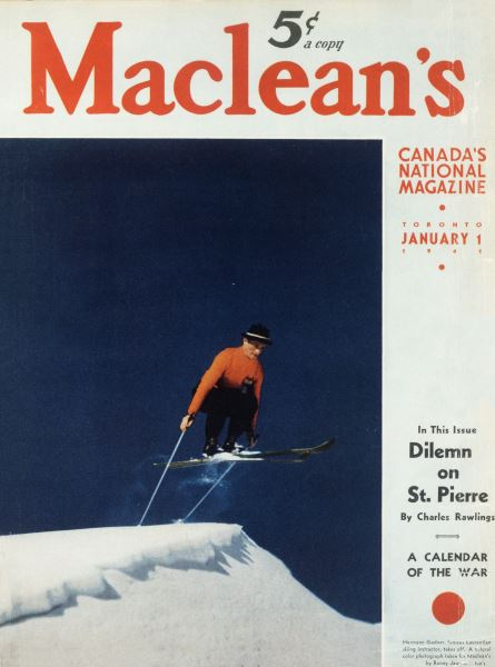 Issue: - January 1941   Maclean's
