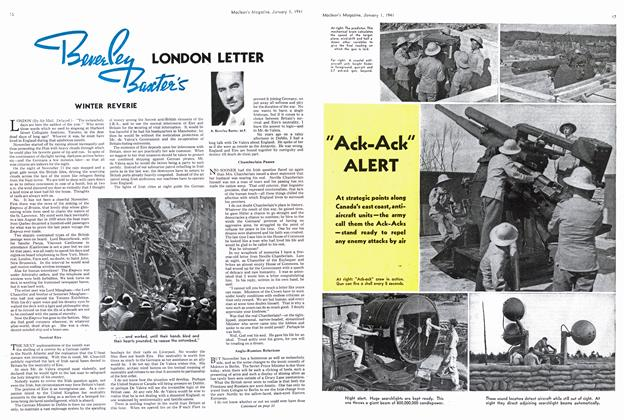 Article Preview: LONDON LETTER WINTER REVERIE, January 1941 | Maclean's
