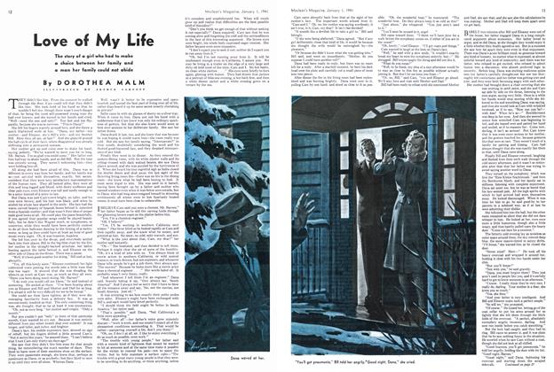 Article Preview: Love of My Life, January 1941 | Maclean's