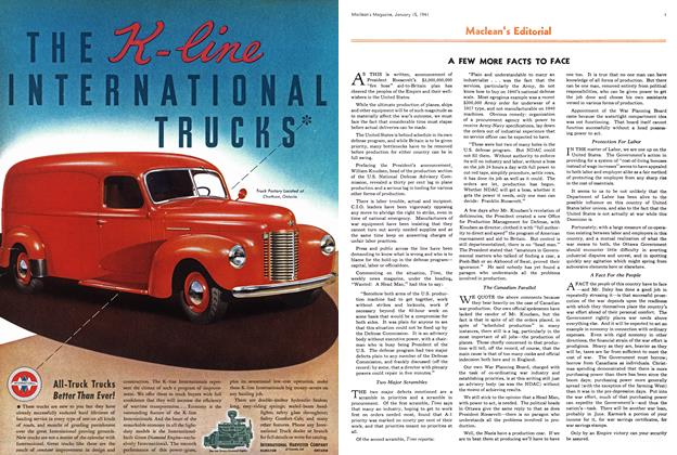 Article Preview: Maclean's Editorial, January 1941 | Maclean's