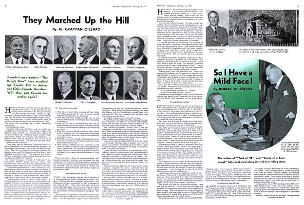 Article Preview: They Marched Up the Hill, January 1941 | Maclean's