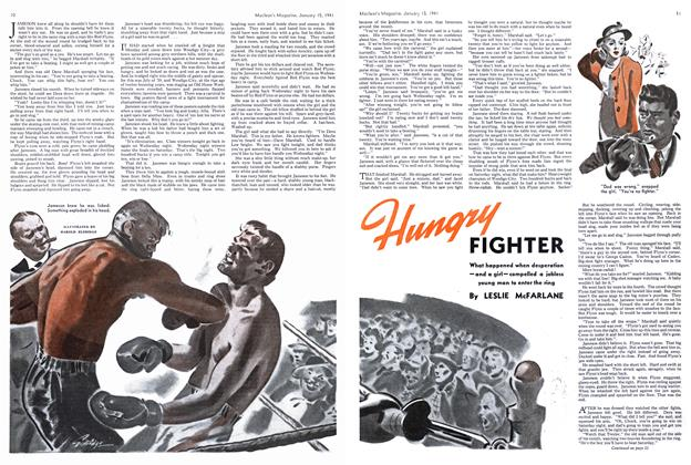 Article Preview: Hungry FIGHTER, January 1941 | Maclean's