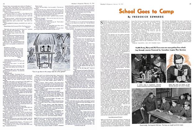Article Preview: School Goes to Camp, February 1941 | Maclean's
