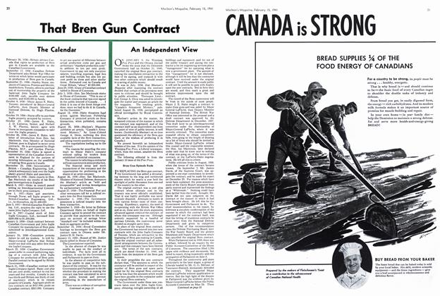 Article Preview: An Independent View, February 1941 | Maclean's