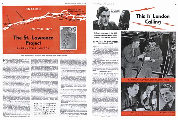 Article Preview: The St. Lawrence Project, February 1941 | Maclean's
