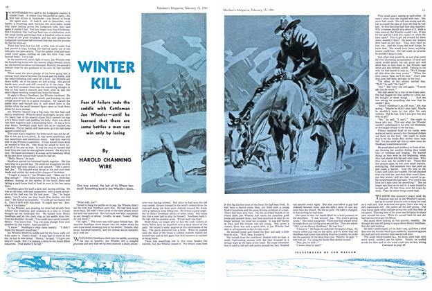 Article Preview: WINTER KILL, February 1941 | Maclean's