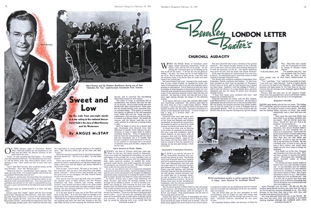 Article Preview: Sweet and Low, February 1941 | Maclean's