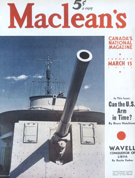 Issue: - March 1941   Maclean's