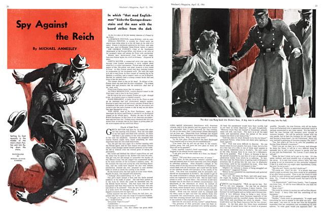 Article Preview: Spy Against the Reich, April 1941 | Maclean's