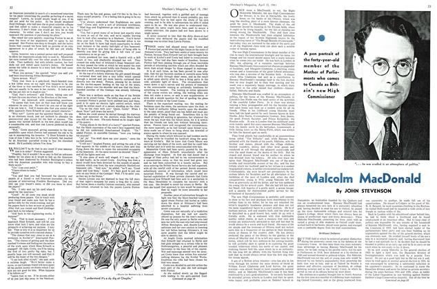 Article Preview: Malcolm MacDonald, April 1941 | Maclean's