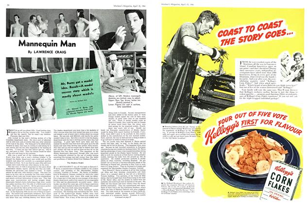 Article Preview: Mannequin Man, April 1941 | Maclean's