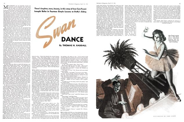 Article Preview: Swan DANCE, April 1941 | Maclean's