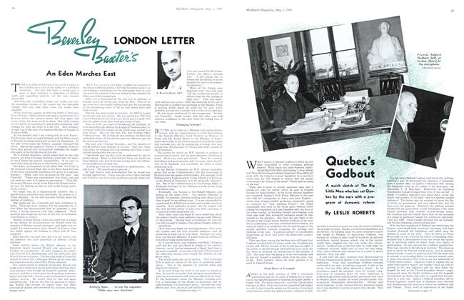 Article Preview: Quebec's Godbout, May 1941 | Maclean's