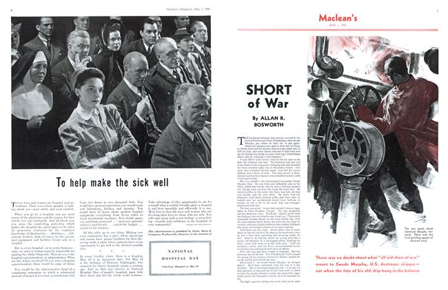 Article Preview: SHORT of War, May 1941 | Maclean's