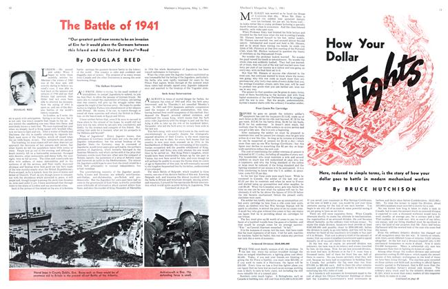 Article Preview: How Your Dollar Fights, May 1941 | Maclean's