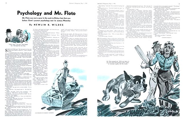 Article Preview: Psychology and Mr. Floto, May 1941 | Maclean's