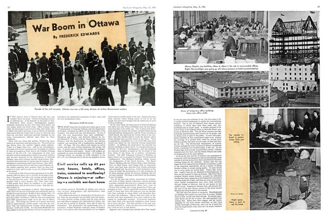 Article Preview: War Boom in Ottawa, May 1941 | Maclean's
