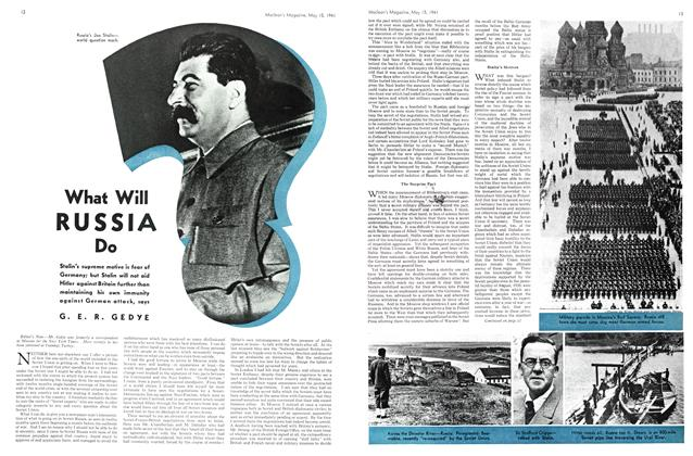 Article Preview: What Will RUSSIA Do, May 1941 | Maclean's