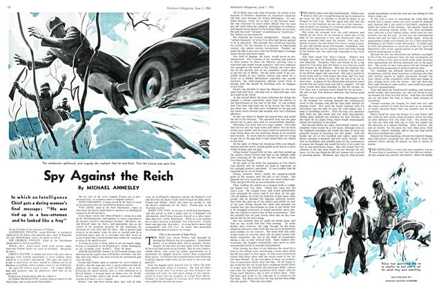 Article Preview: Spy Against the Reich, June 1941 | Maclean's